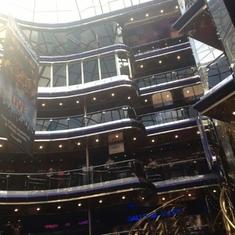 Grand Atrium and Bar on Carnival Sensation