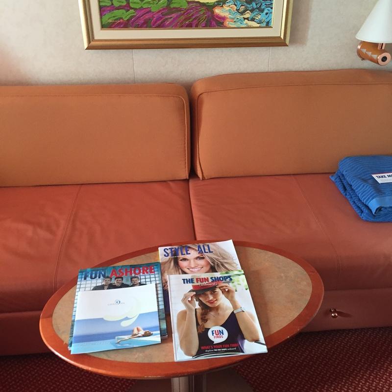 Carnival Splendor cabin 8260