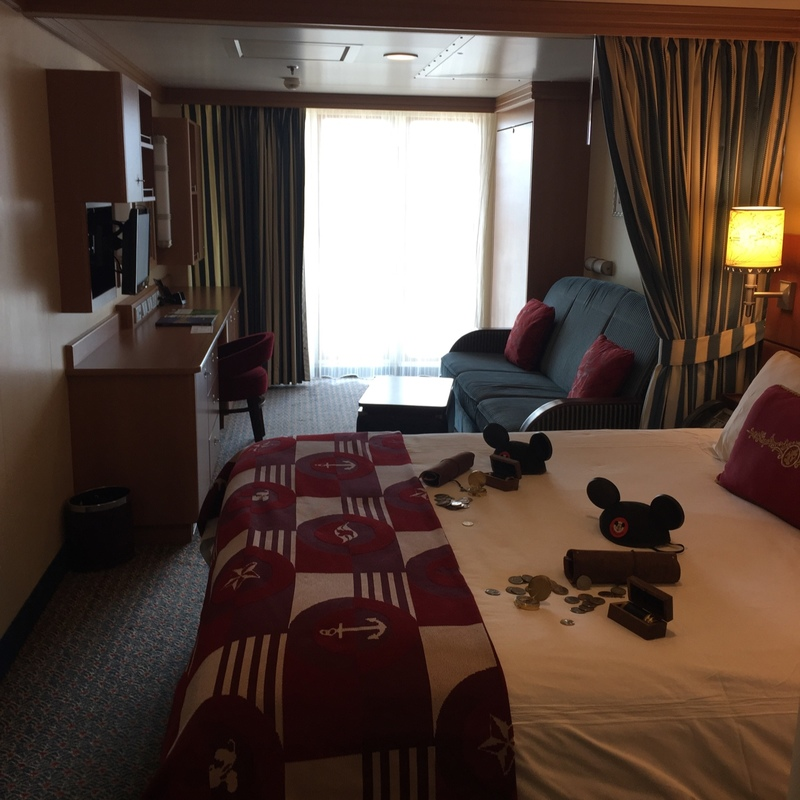Balcony Cabin 6614 On Disney Dream Category 4d