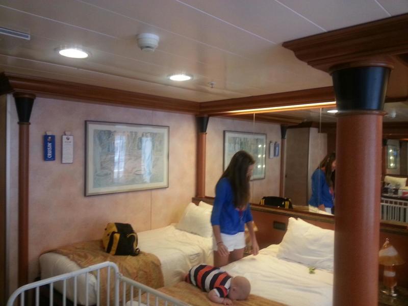 Carnival Ecstasy cabin U87