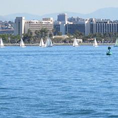 San Diego, California - San Diego Bay