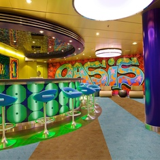 The Living Room on Oasis of the Seas