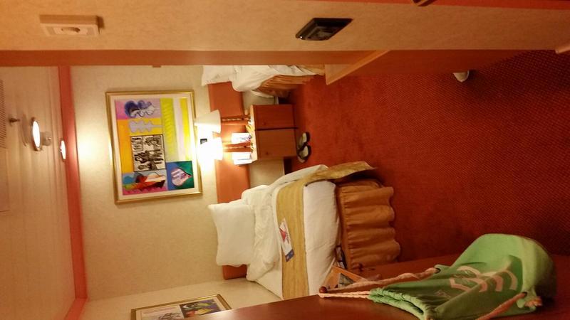 Carnival Liberty cabin 8334