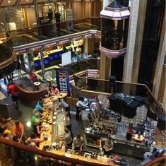 Capitol Atrium And Bar on Carnival Triumph