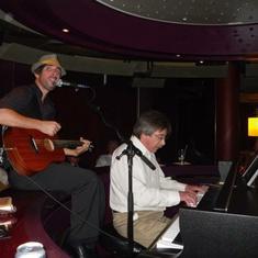 Piano Bar on Eurodam