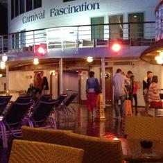 Pool Bar on Carnival Fascination