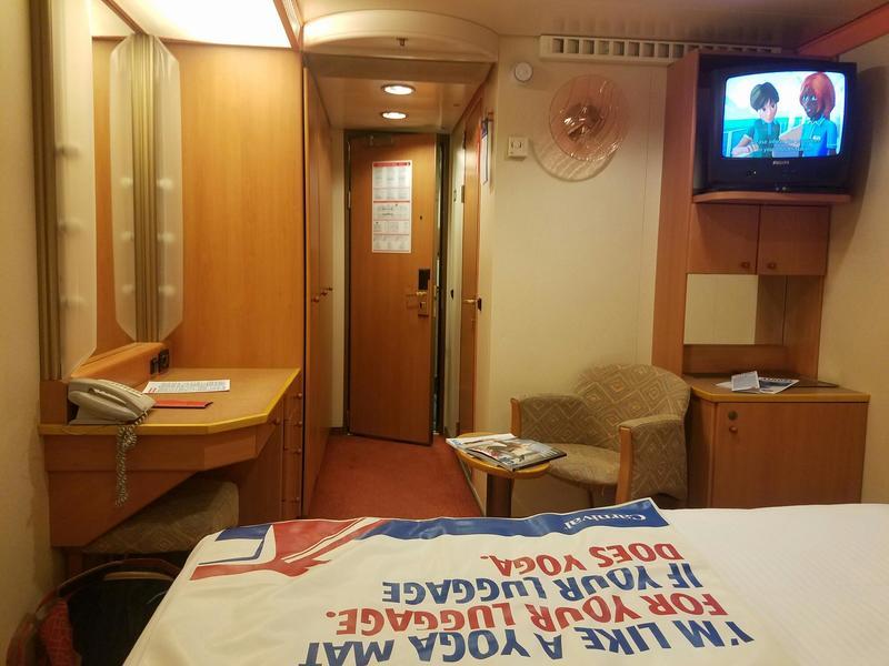 Carnival Pride cabin 8107