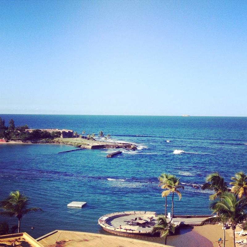 San Juan, Puerto Rico - View from Hilton in San Juan, PR