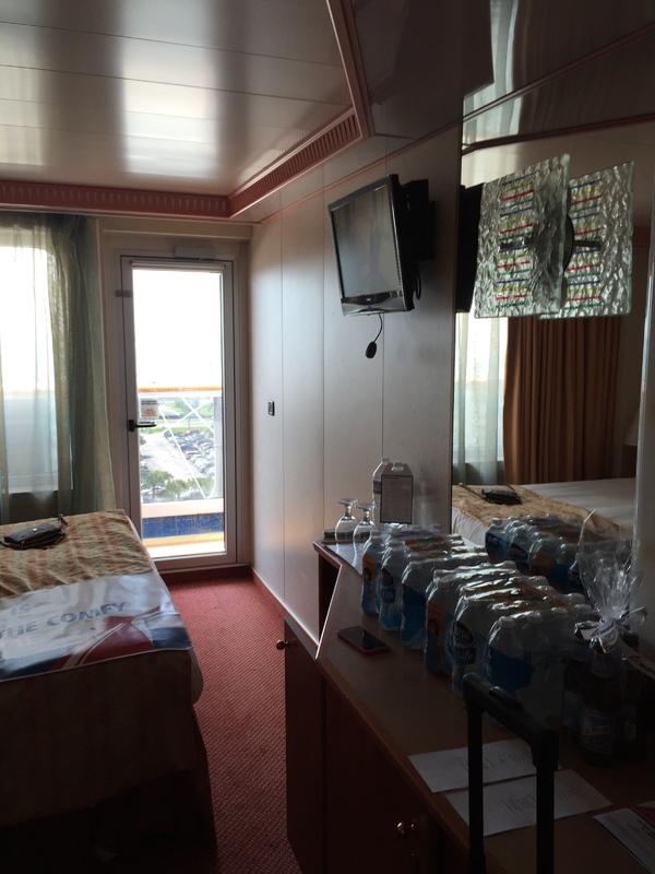 Carnival Splendor cabin 9295