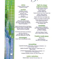 AquaSpa Cafe on Celebrity Infinity