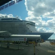 Next Cruise on Ovation of the Seas