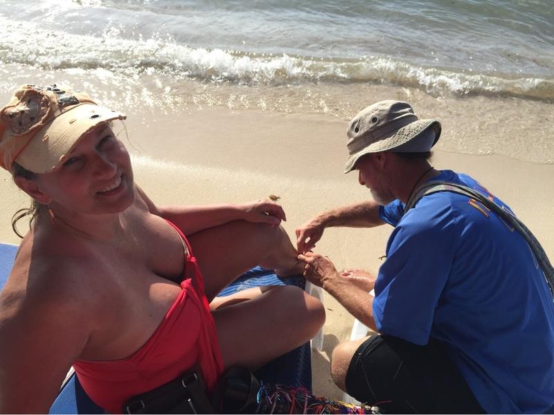 Cozumel, Mexico - Beach vendor, Carols n Charlie's