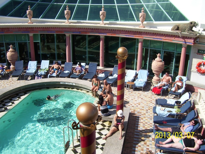 Solarium on Mariner of the Seas