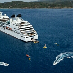 Marina on Seabourn Legend