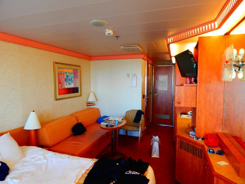 Balcony Cabin 1035 On Carnival Glory Category 8e