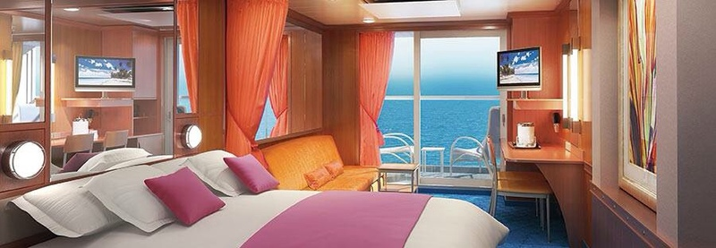 Mid Ship Mini Suite With Balcony Cabin Category Ma