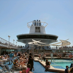 Swimming Pools on Monarch of the Seas