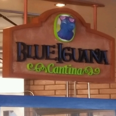 Blue Iguana Cantina on Carnival Fantasy