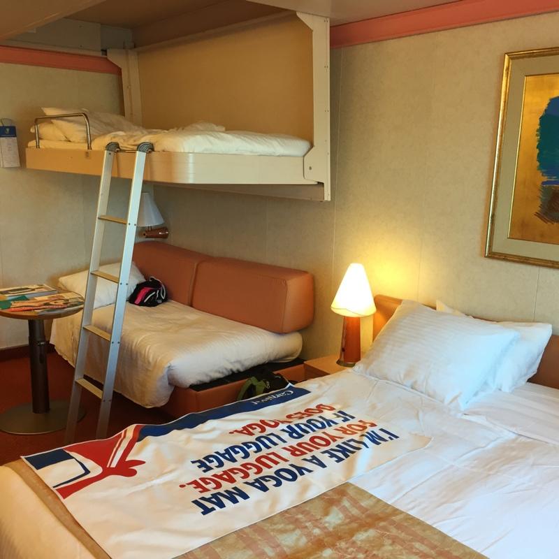 Carnival Conquest cabin 1237