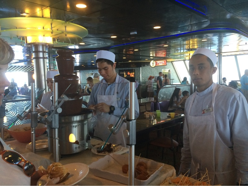 Carnival Sensation, Dining, Grand Buffet