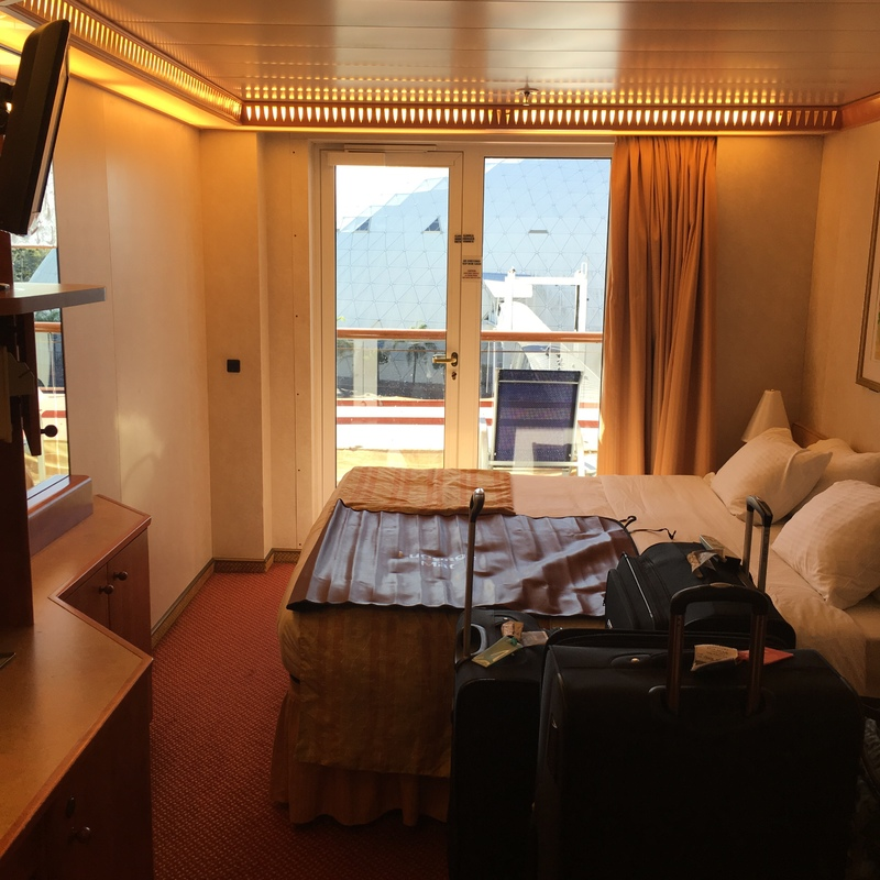 Balcony Cabin 5181 On Carnival Miracle Category 7a