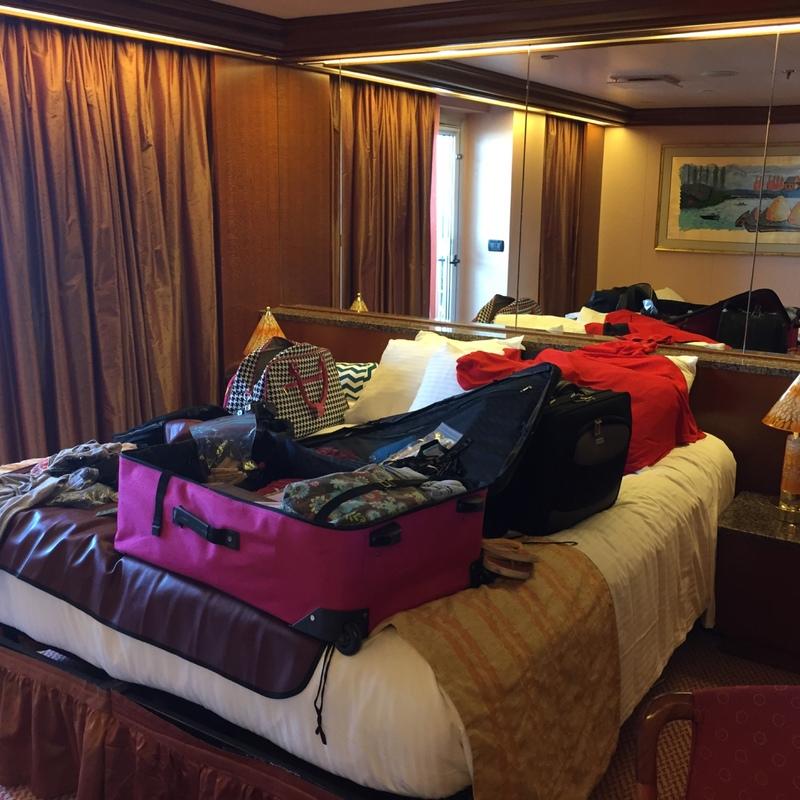 Carnival Conquest cabin 7248