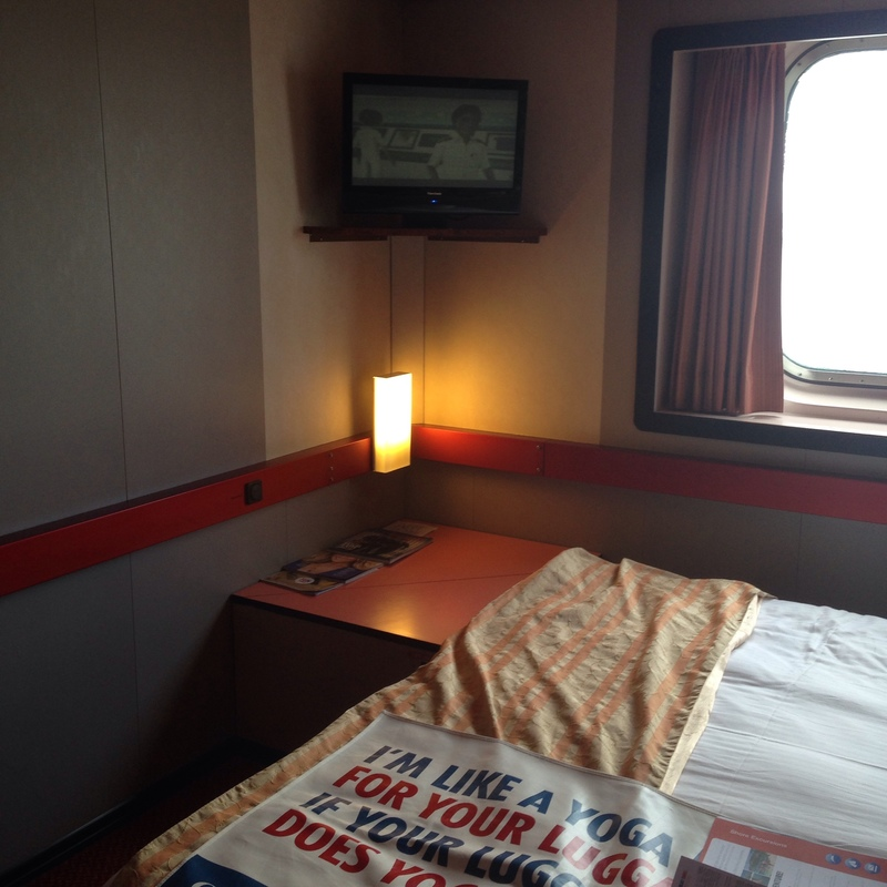 Carnival Elation cabin E118