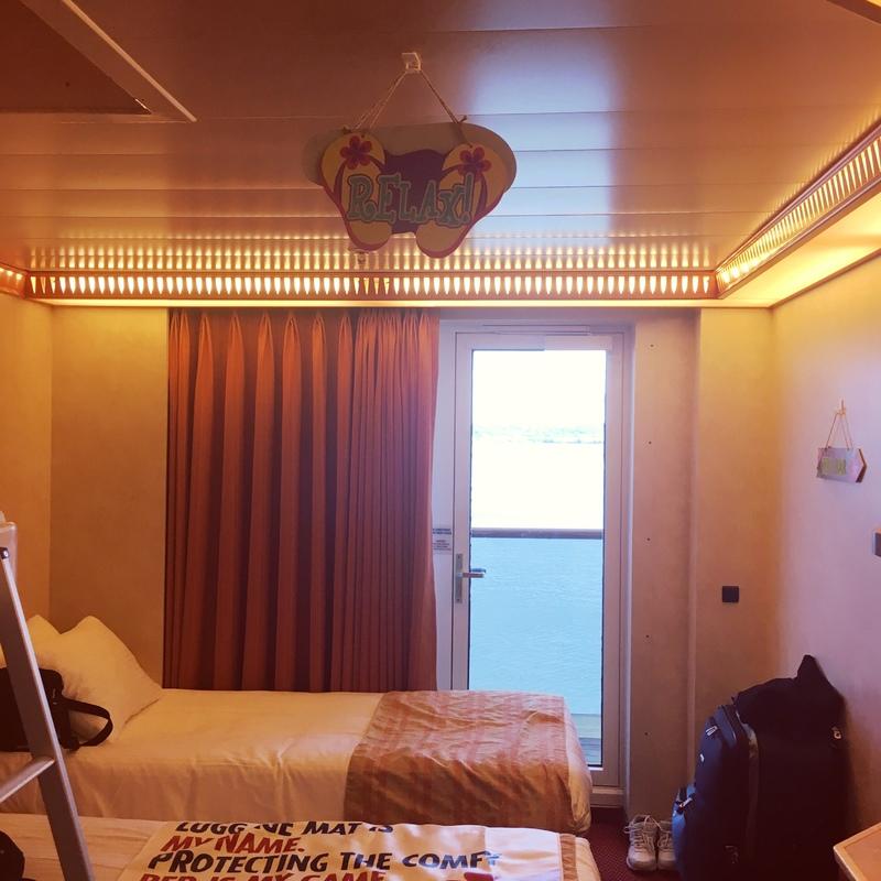 Carnival Pride cabin 8212