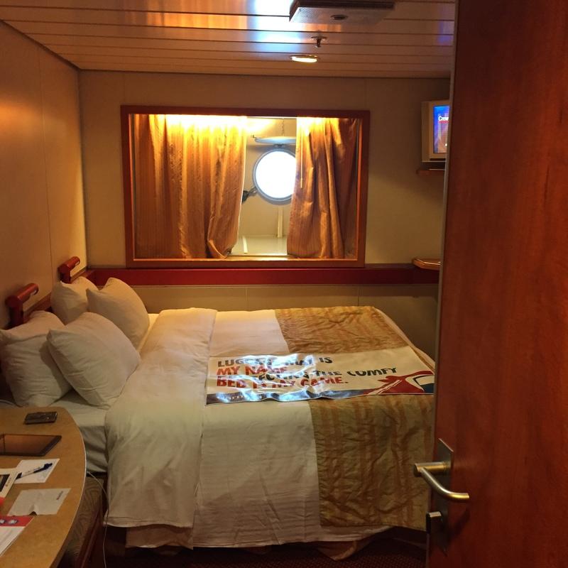 Interior Stateroom on Carnival Ecstasy