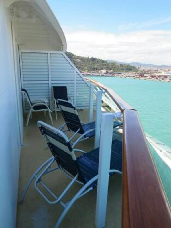 Balcony Cabin 7172 On Serenade Of The Seas Category D1