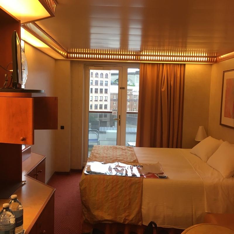 Balcony Cabin 7295 On Carnival Legend Category 8k