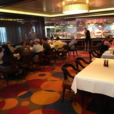 Cagney''s Steakhouse on Norwegian Breakaway