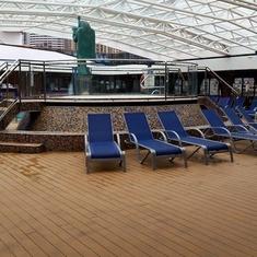Avalon Main Pool on Carnival Legend