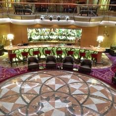Lobby Bar on Brilliance of the Seas
