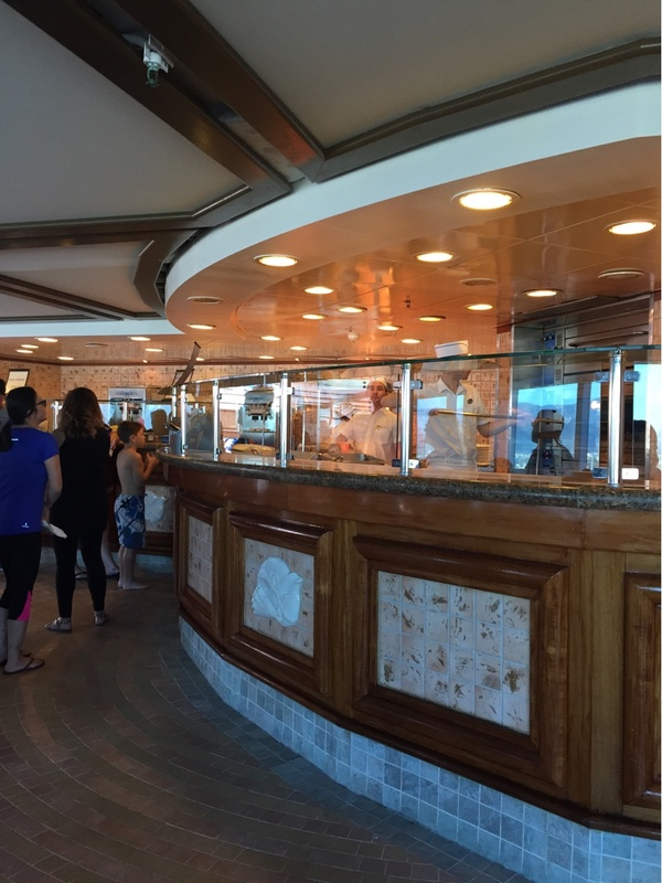 Cafe Caribe on Crown Princess