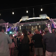 Patio Bar on Seabourn Sojourn