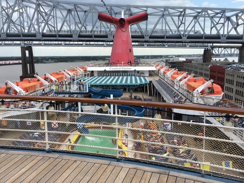 Port of NOLA - Carnival Elation