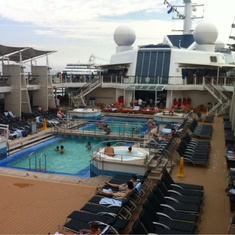 Pool on Celebrity Silhouette
