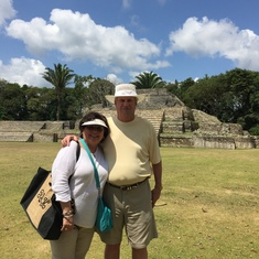 Mayan ruins in Belize