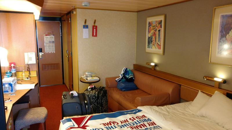 Carnival Triumph cabin 8409