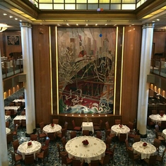 Britannia Restaurant on Queen Mary 2