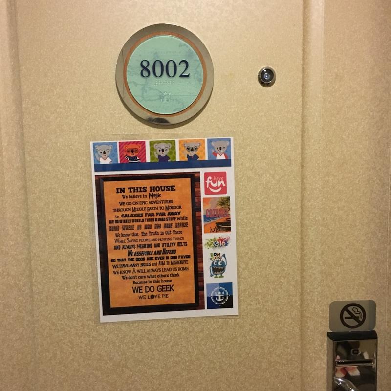 Brilliance of the Seas cabin 8002