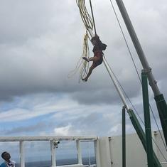 Bungee Trampoline on Norwegian Getaway
