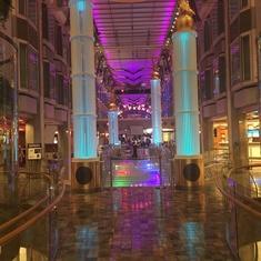 Promenade on Freedom of the Seas