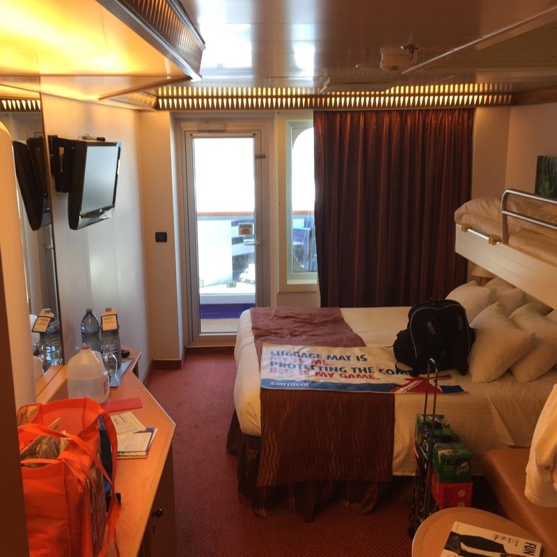 Carnival Magic cabin 8212