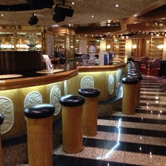Ivory Piano Bar on Carnival Pride