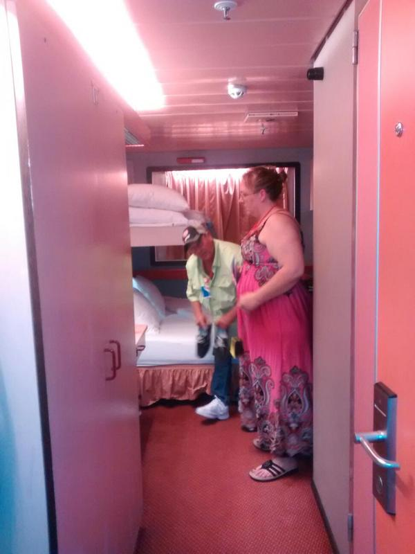Interior Stateroom Cabin Category 4b Carnival Paradise