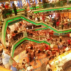 Neptune''s Way Promenade on Carnival Victory