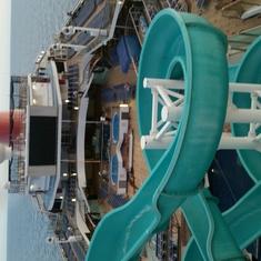 Slide Entrance on Carnival Valor