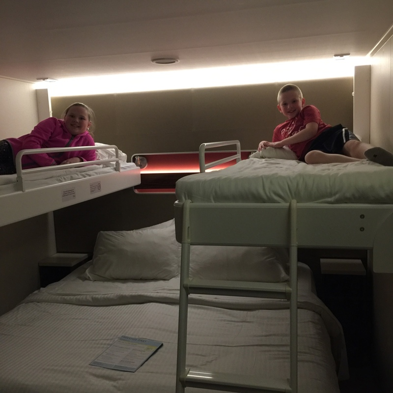 Family Inside Stateroom Cabin Category I1 Norwegian Getaway